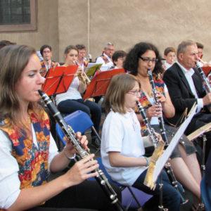 Pupitre des clarinettes